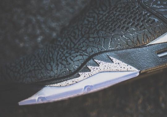 """Air Jordan 3Lab5 """"Black/Metallic"""" – Arriving at Retailers"""