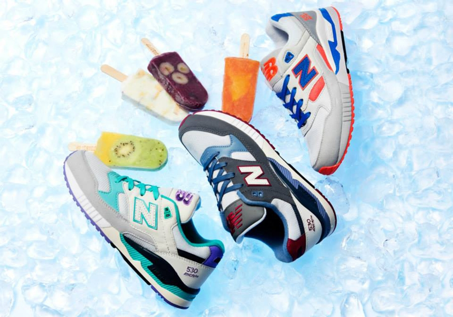 new balance 530 ice cream pack