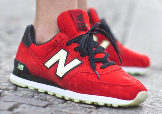 new balance 574 original red