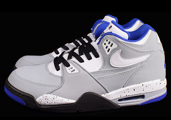 new style e4469 f4ed3 Nike Air Flight  89 – Magnet Grey – Blue – White