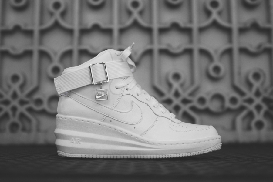 sports shoes c0c7a c4daf Nike WMNS Lunar Force 1 Sky Hi - July 2014 Releases - SneakerNews.com