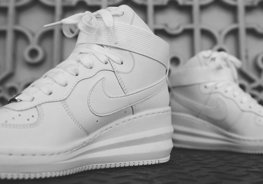 sports shoes 030a3 34ca9 Nike WMNS Lunar Force 1 Sky Hi - July 2014 Releases - SneakerNews.com