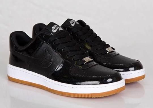 Nike Women's Air Force 1 Ultra Low – Black – Gum