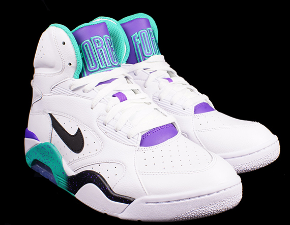 Air 180 Black White Atomic Nike Teal Force Mid hrsxtQdC