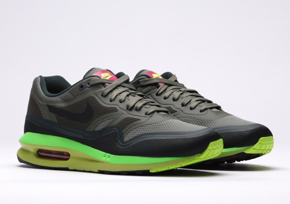 nike air max lunar1 wr – iron green – black – volt