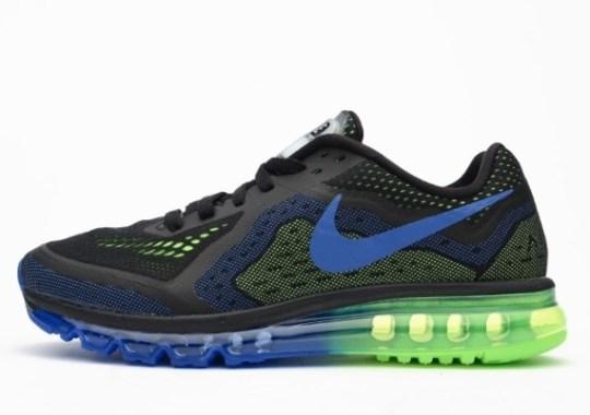 Nike Air Max 2014 – Black – Photo Blue – Electric Green