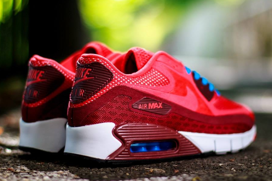 red white and blue nike air max 90
