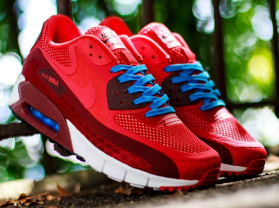 air max 90 blue and red