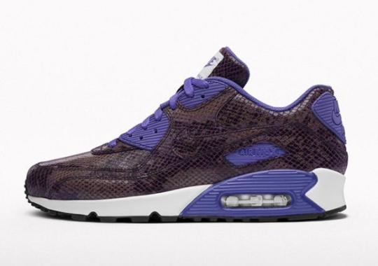 """Nike Air Max 90 – """"Croc"""" and """"Snake"""" Options on NIKEiD"""