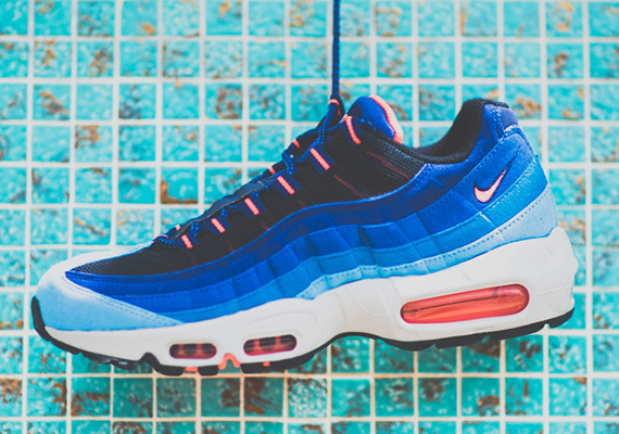 new arrivals d7139 07dac Nike Air Max 95 - Blue Fade - Bright Mango - SneakerNews.com