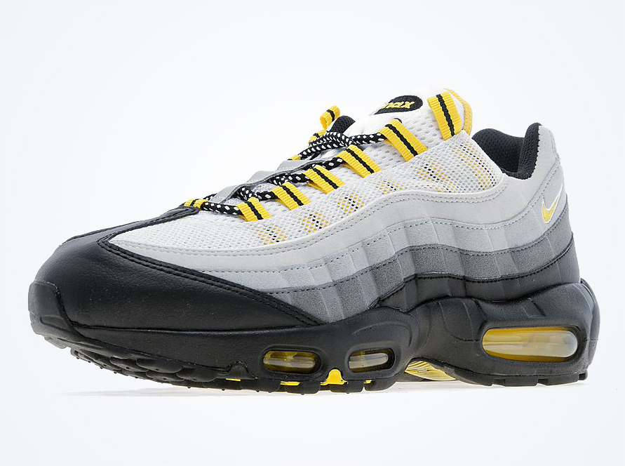 nike air max 95 grey black yellow. Black Bedroom Furniture Sets. Home Design Ideas