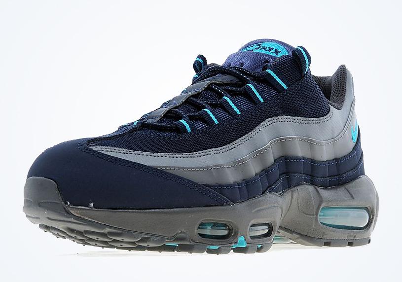 Nike Air Max 95 Grey Navy Teal