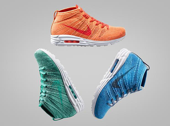 huge selection of 2711a 95a7f Nike Air Max Lunar 90 Flyknit Chukka - Release Date ...