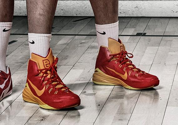 "Pau Gasol's Nike Hyperdunk 2014 ""Spain"" PE for 2014 FIBA"