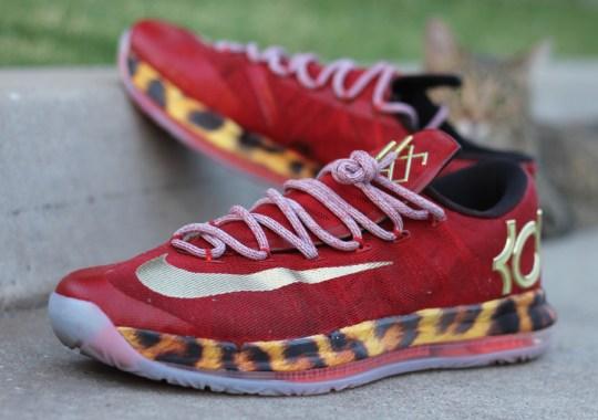 """Nike KD 6 Elite """"2K14"""" by AMAC Customs"""