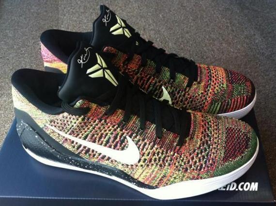 "huge selection of a0f5b 41763 Nike Kobe 9 Elite Low ""Masterpiece"" – The NIKEiD Version"