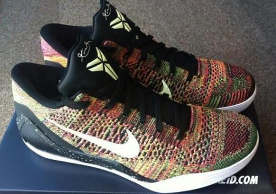 """Nike Kobe 9 Elite Low """"Masterpiece"""" – The NIKEiD Version"""