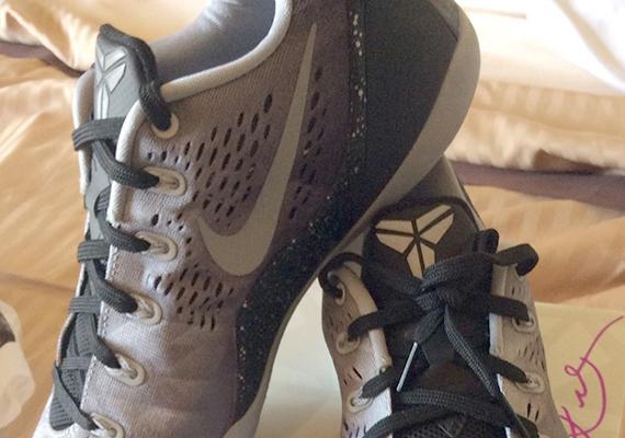 b88d4033c71b Nike Kobe 9 EM Premium - Black - Metallic Silver - SneakerNews.com