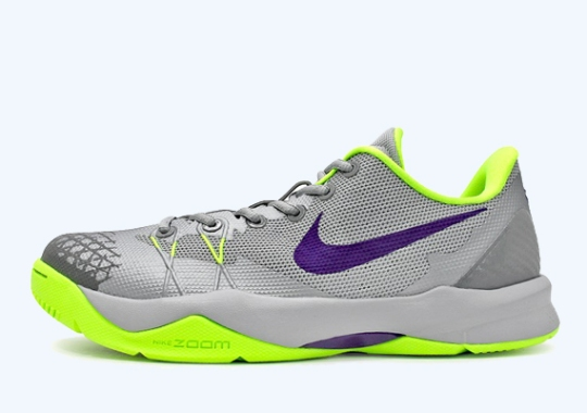 Nike Zoom Kobe Venomenon 4 – Wolf Grey – Court Purple – Volt