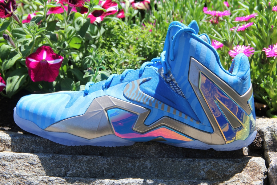 Nike LeBron 11 Elite - Unreleased Blue/Silver Sample ...