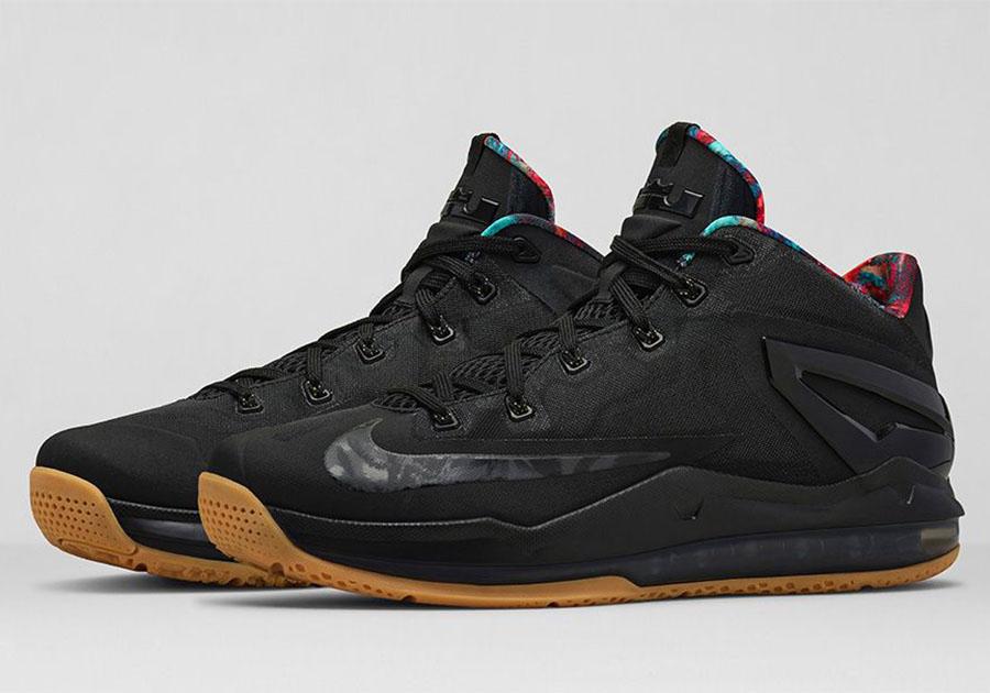 Nike Lebron 11 Faible - 2014 07 24 Nike Lebron 11 Faible Noirgum Nikestore Release Info Code Promo