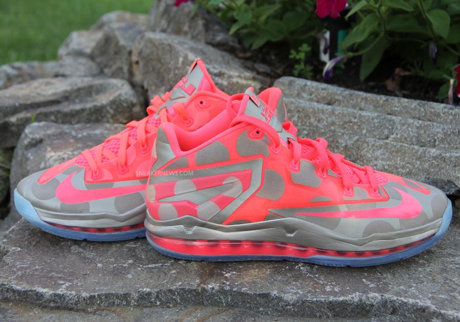 "Nike LeBron 11 Low ""Polka Dot"" Sample - SneakerNews.com"