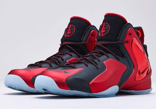 "Nike Lil Penny Posite ""University Red"" – Release Date"