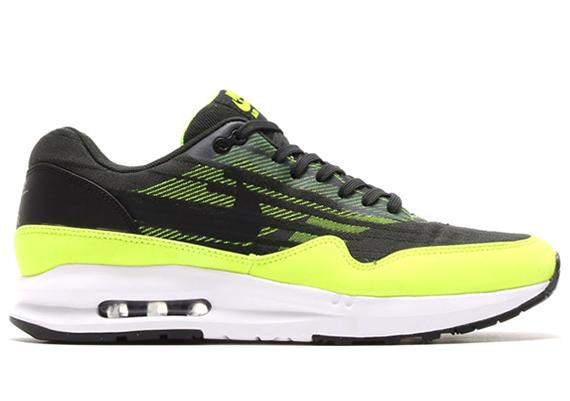 quality design 57a35 f986e Nike Air Max Lunar 1 Jacquard – Black – Green – Volt