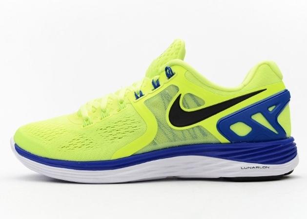 classic fit 567e8 04c07 Nike LunarEclipse 4 - Volt - Black - Hyper Cobalt - White - SneakerNews.com
