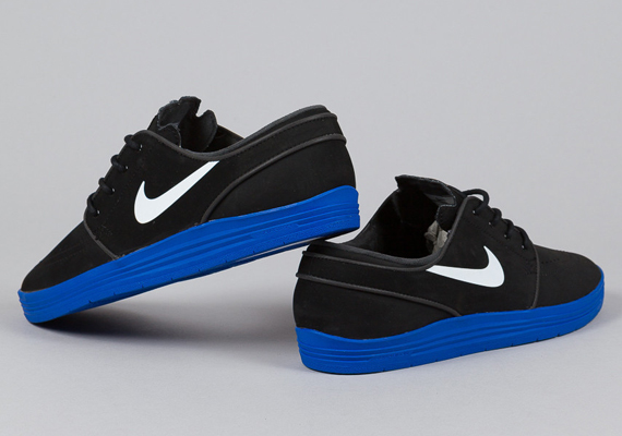 online store 9cce8 1b68b Nike SB Lunar Stefan Janoski – Black – Game Royal