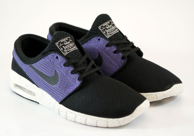 wholesale dealer b6307 4f2c2 Nike SB Stefan Janoski Max - Black - Purple Haze - SneakerNews.com