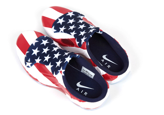 """Nike Solo Slide """"USA"""" Color  White University Red Style Code  668073-100 8430a06fff"""
