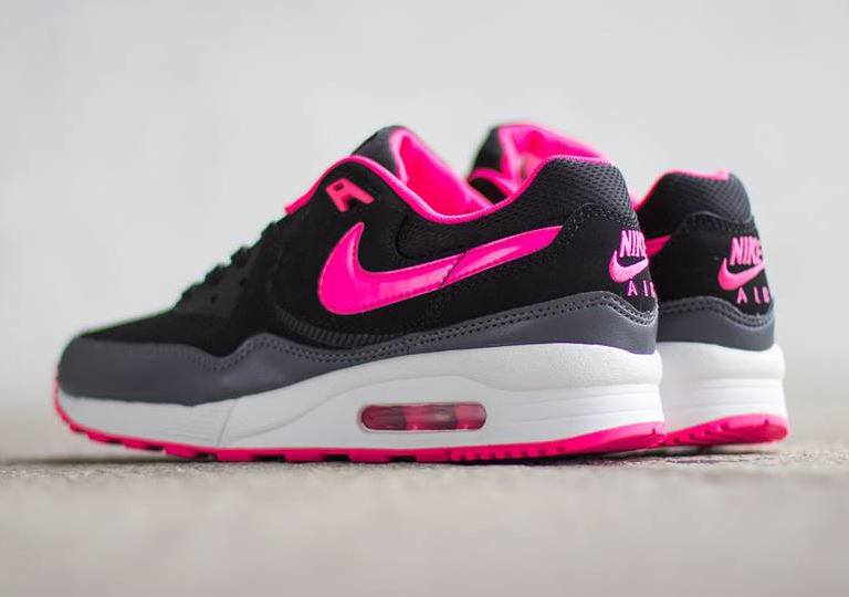 pink black and grey air max