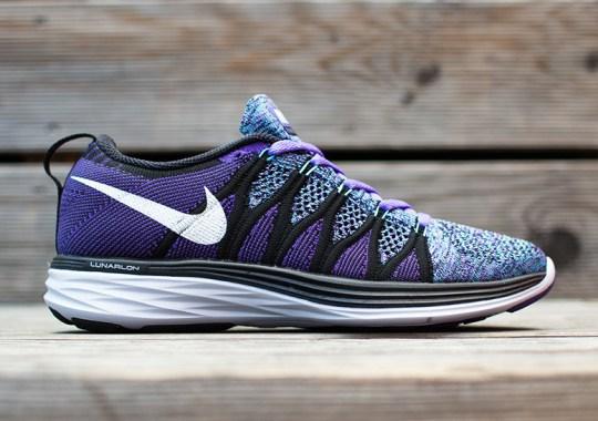 """Nike WMNS Flyknit Lunar2 """"Purple Haze"""""""