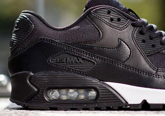 ladies black nike air max 90