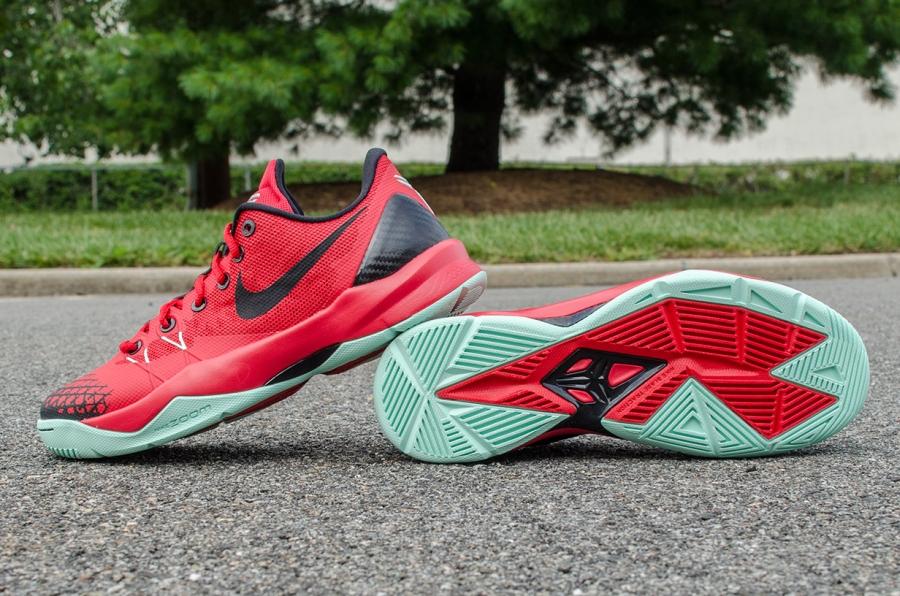 ba8a169e9afd Nike Zoom Kobe Venomenon 4 - University Red - Wolf Grey - Medium Mint -  SneakerNews.com