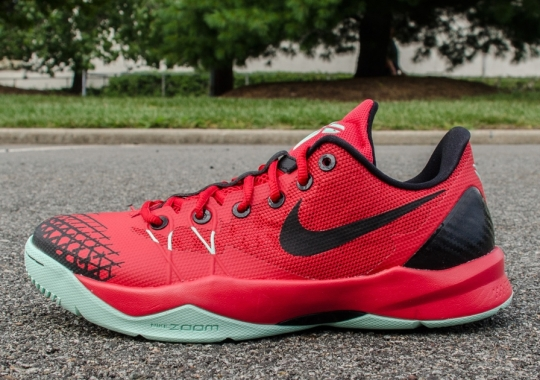 Nike Zoom Kobe Venomenon 4 – University Red – Wolf Grey – Medium Mint