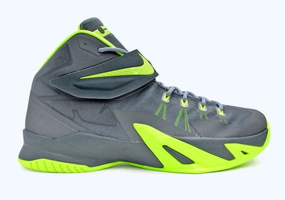 Nike LeBron Soldier 8 Grey Volt low-cost - ramseyequipment.com 70fee0d96
