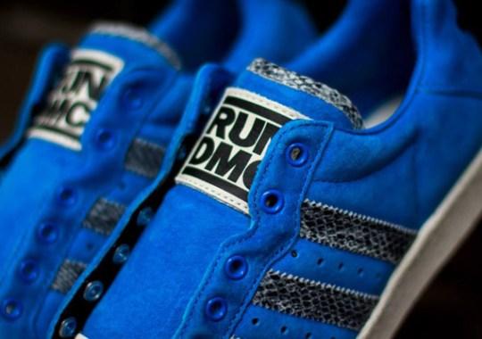 Run DMC x adidas Ultrastar 80s – Bluebird – Snakeskin
