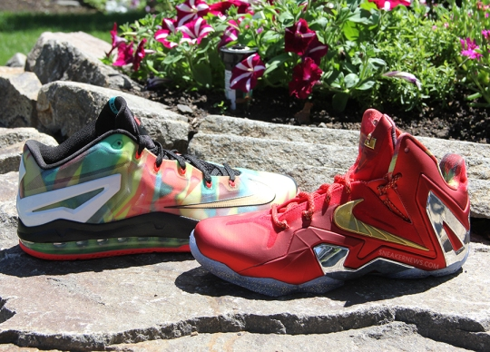 "A Detailed Look at the Unreleased Nike LeBron 11 ""Championship Pack"""