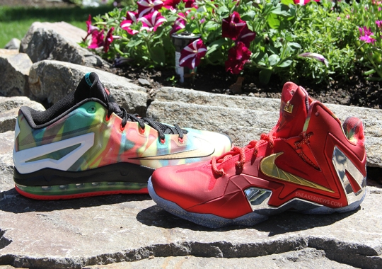 """A Detailed Look at the Unreleased Nike LeBron 11 """"Championship Pack"""""""