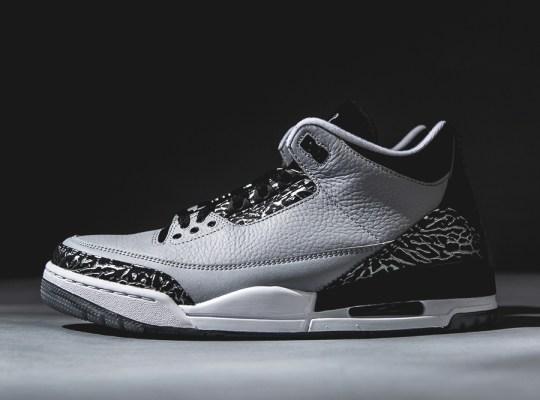 """Air Jordan 3 """"Wolf Grey"""" – Arriving at Retailers"""
