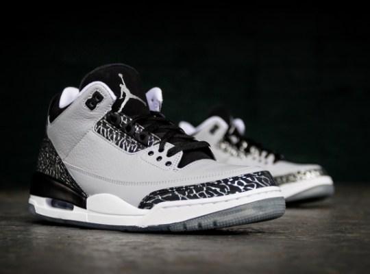 "Air Jordan 3 ""Wolf Grey"" – Release Reminder"