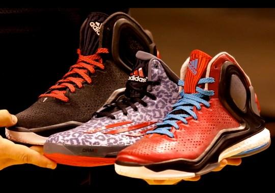 Derrick Rose, Damian Lillard, and adidas Basketball Launch BOOST Basketball in Las Vegas