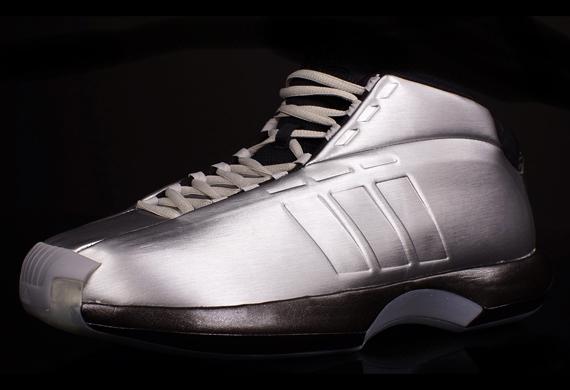 Adidas Crazy 1 Silver Black Sneakernews Com