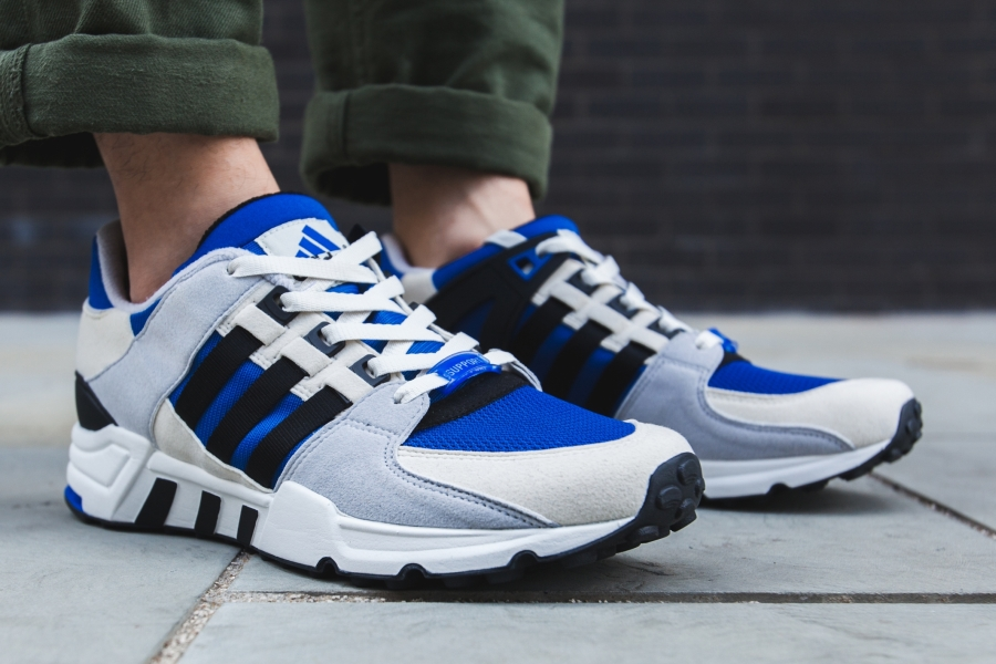 Adidas EQT Support 93/17 Core Black White Milled Leather BB1236