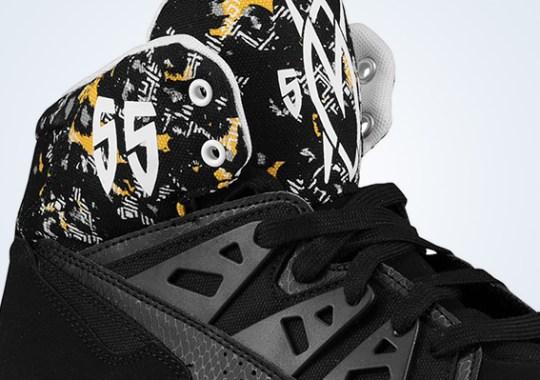 adidas Originals Mutombo – Black – Yellow – White