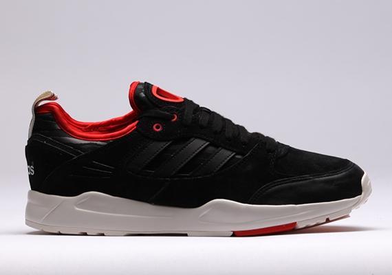 huge discount c0c0d 83ece adidas Originals Tech Super 2.0 – Black – Red