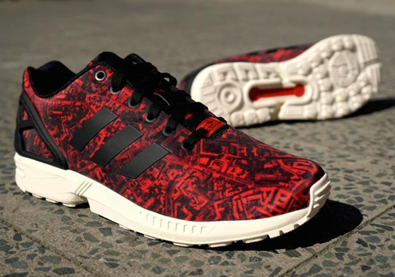 Adidas MiZXFlux Hip Hop stamps sneakers designed by Madina