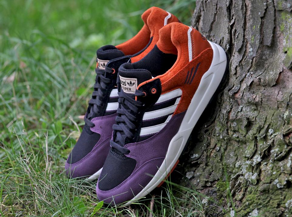 save off 9bfc5 72a22 adidas Originals Tech Super 2.0 - Burgundy - Orange - SneakerNews.com